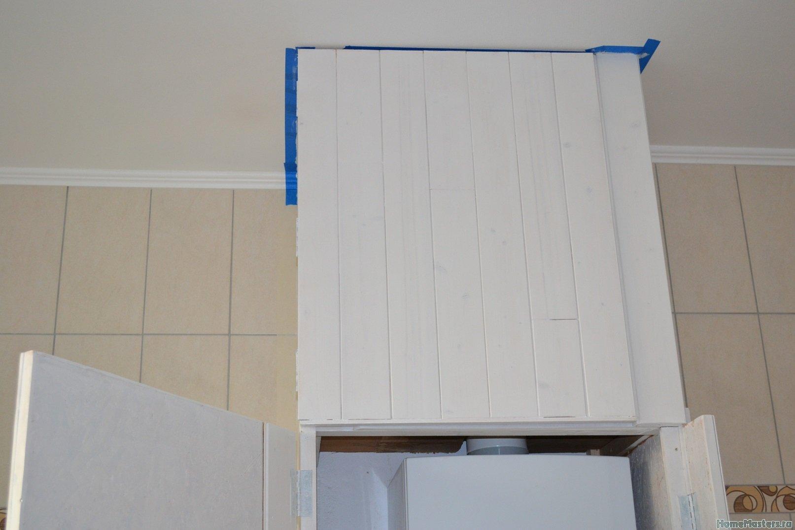 Шкаф в ванной комнате. 017