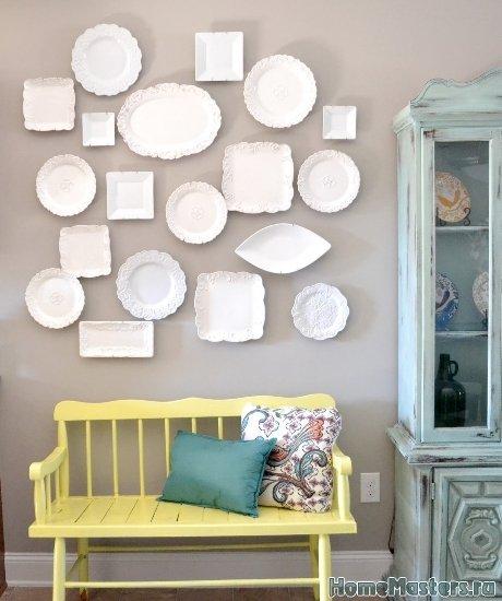 Оформление стен много предметов2