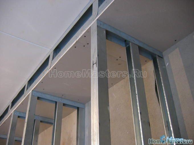 010 собираем шкаф из гипсокартона