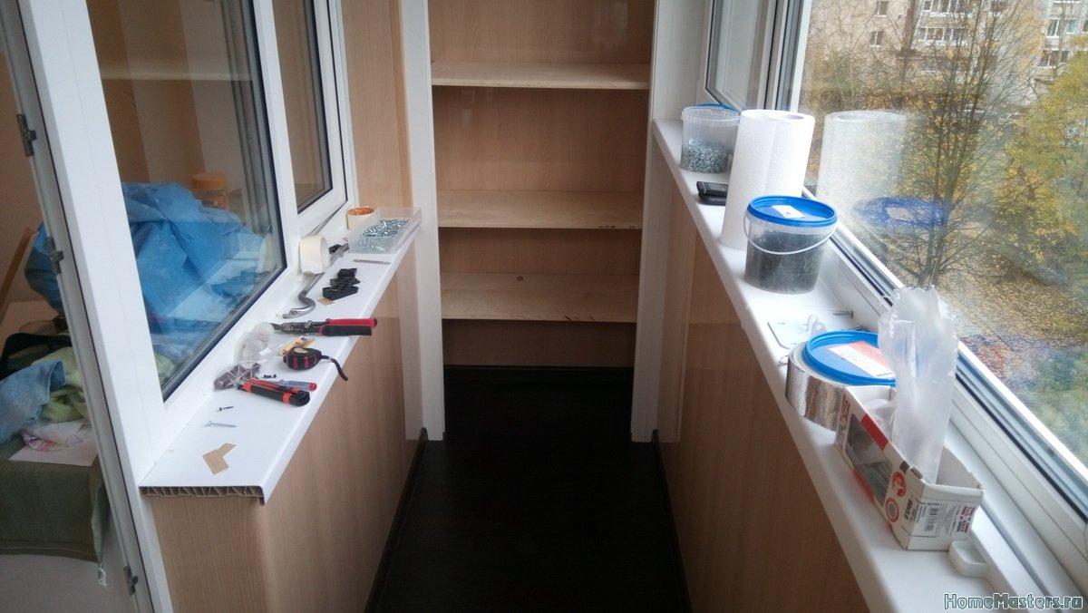 Отделка балкона от СБК-ремонт 29