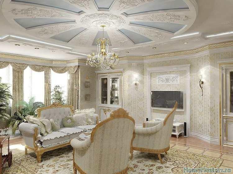 Богатая гостинная