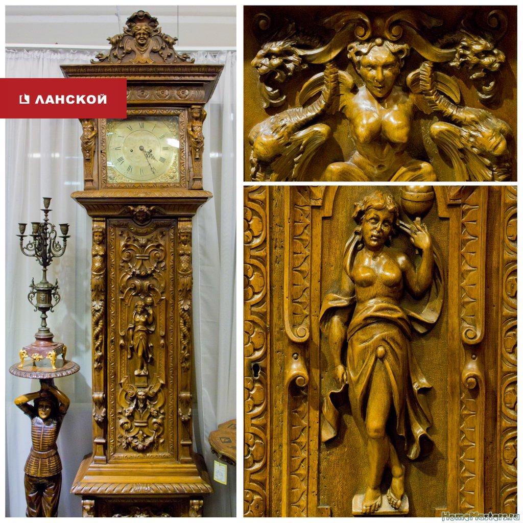 напольные часы, антиквариат спб