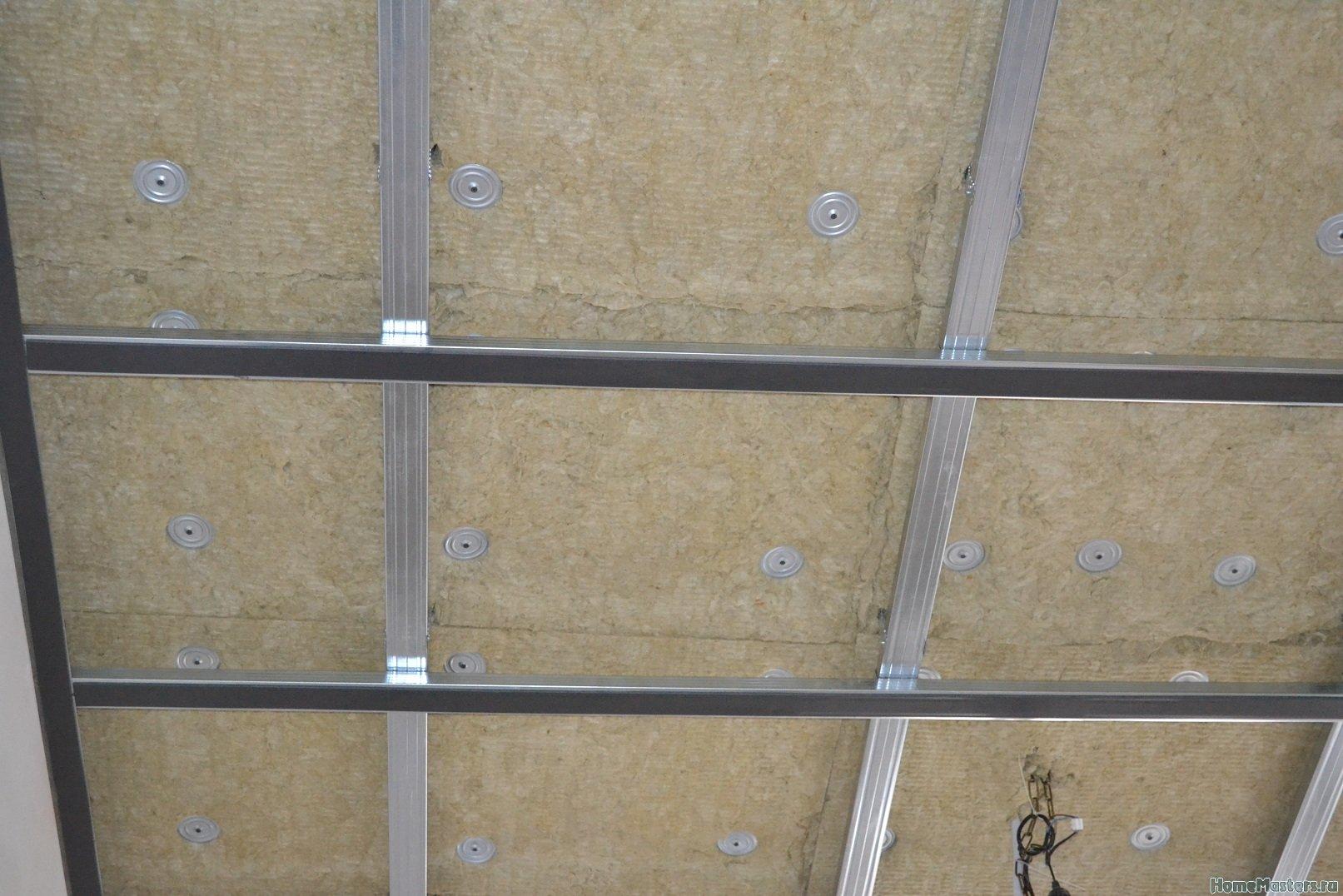 Ремонт спальни 1. Потолок 021