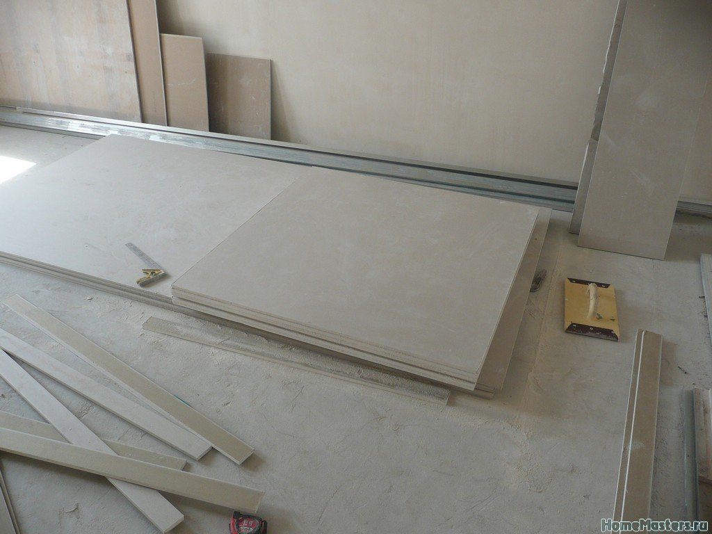 потолок коридор011