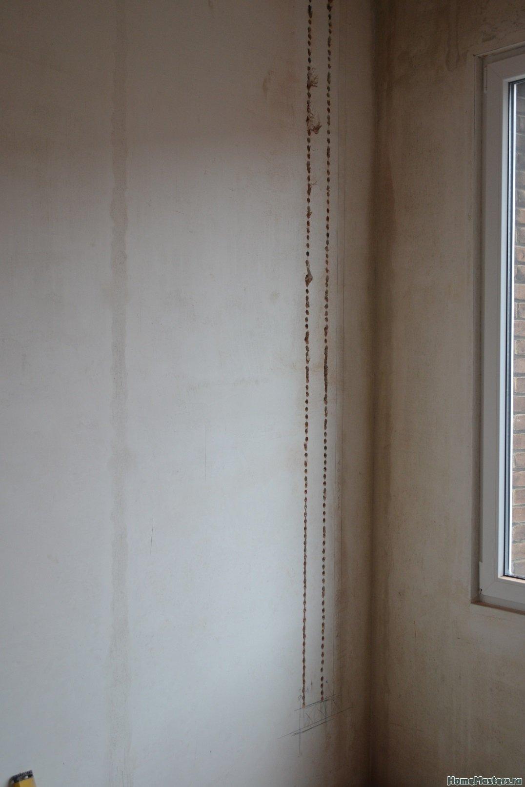 Ремонт спальни 2. Пол и стены. 025