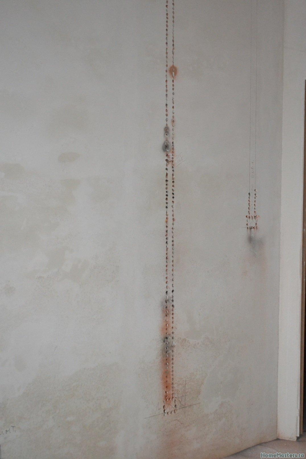 Ремонт спальни 2. Пол и стены. 023