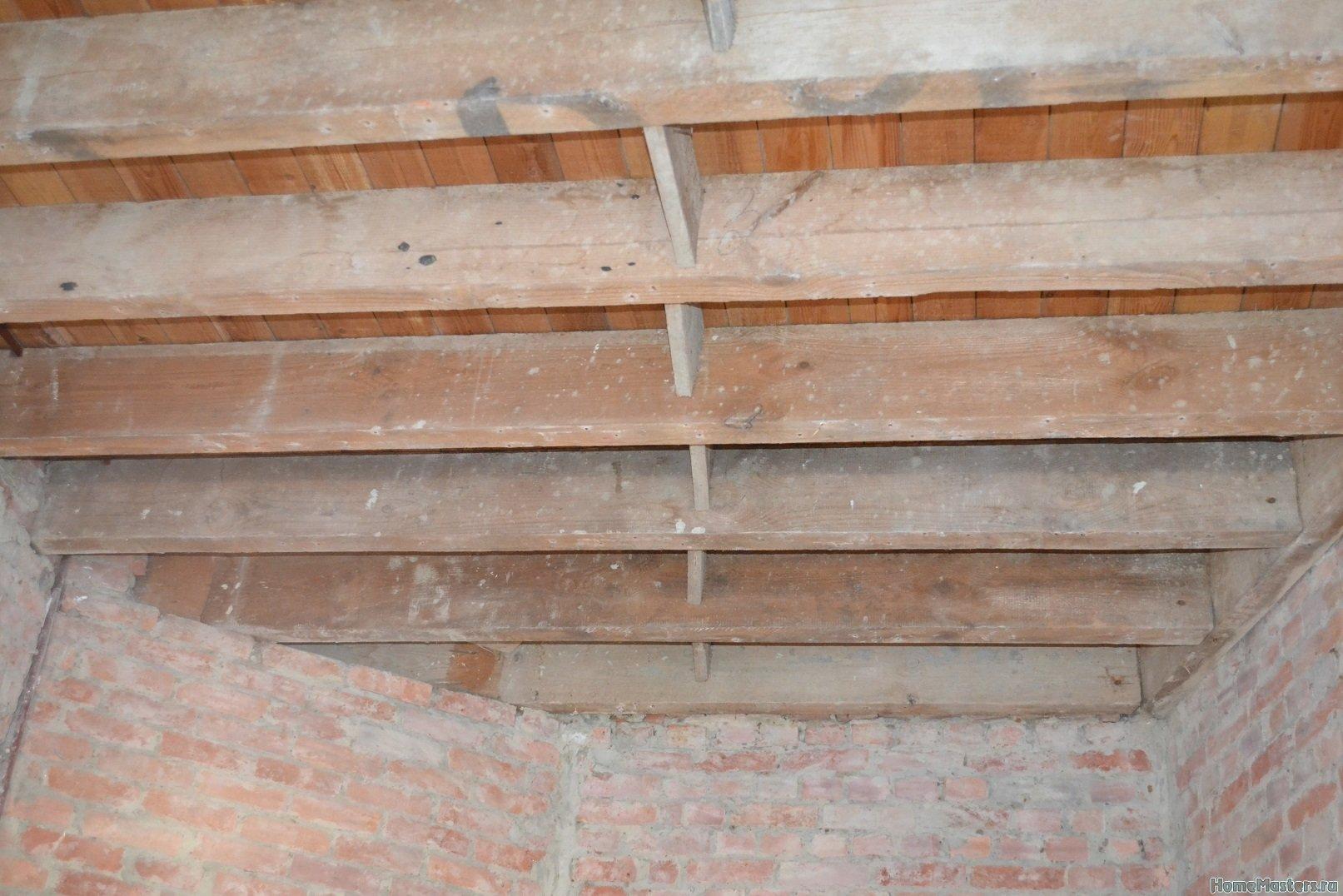 Ремонт в спальне 2. Потолок 003