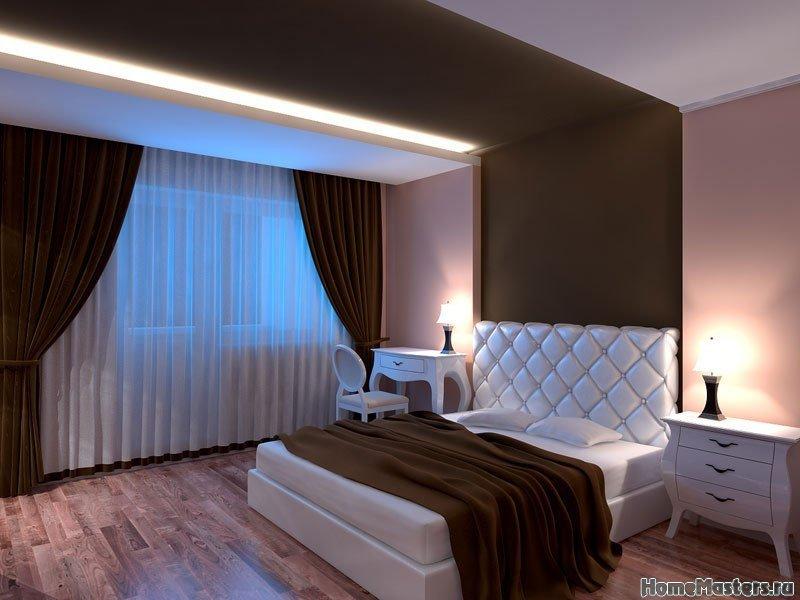 Простая спальня