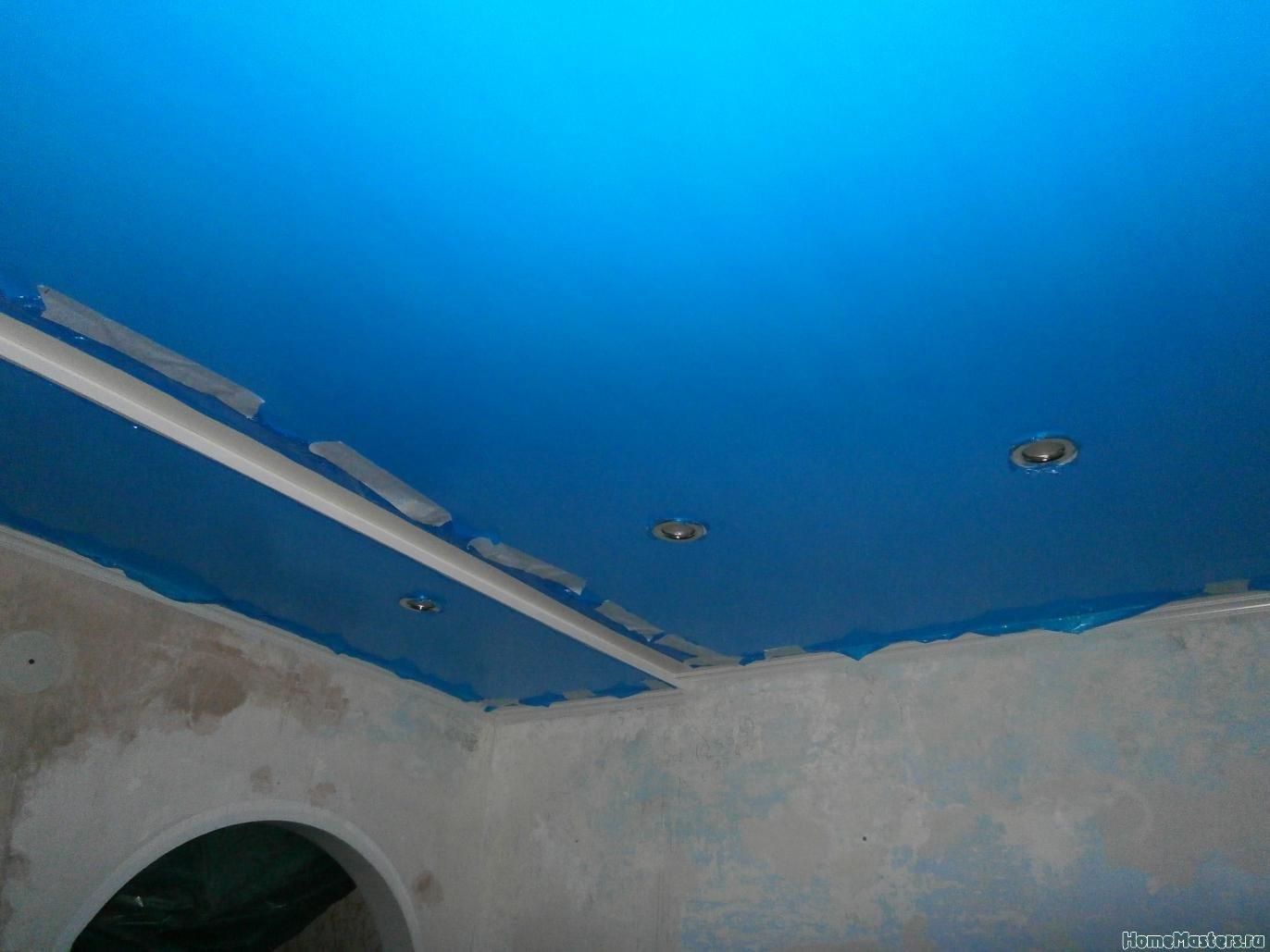 3 Потолок из сэндвич панелей ПВХ ( фото 3 )