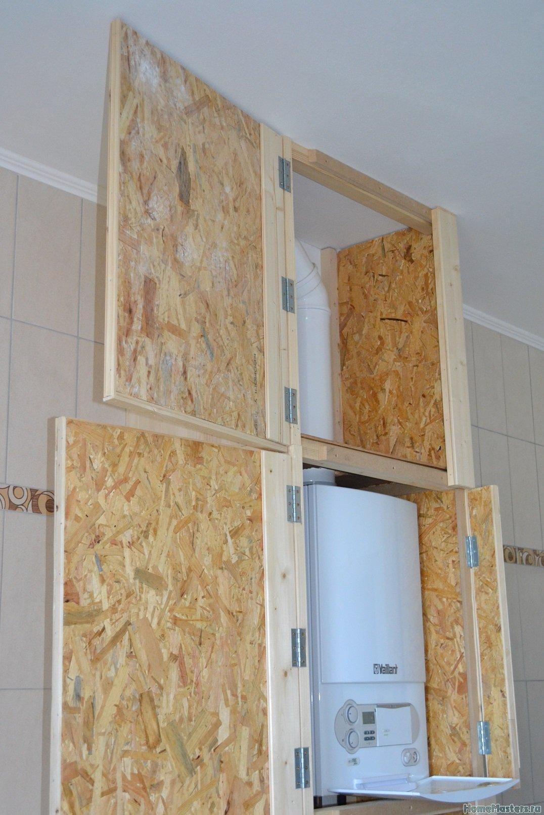 Шкаф в ванной комнате. 009