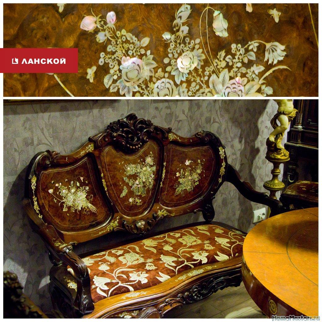 антикварная мебель в ТК Ланской