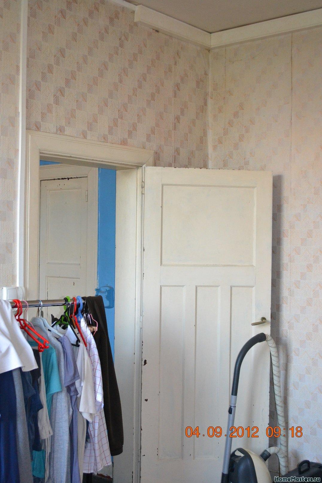 Ремонт спальни  1. Стены, пол, электрика. 005
