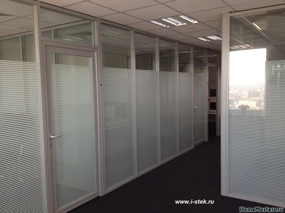 Декорирование офисных перегородок