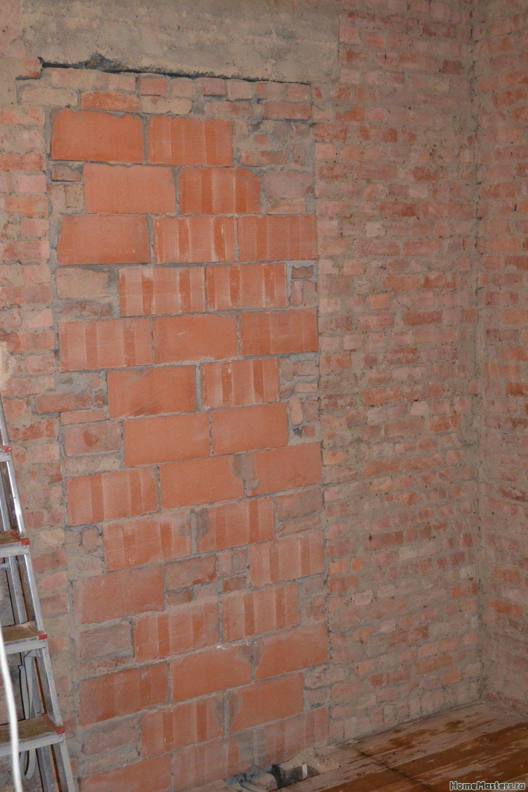 Ремонт спальни  1. Стены, пол, электрика. 020
