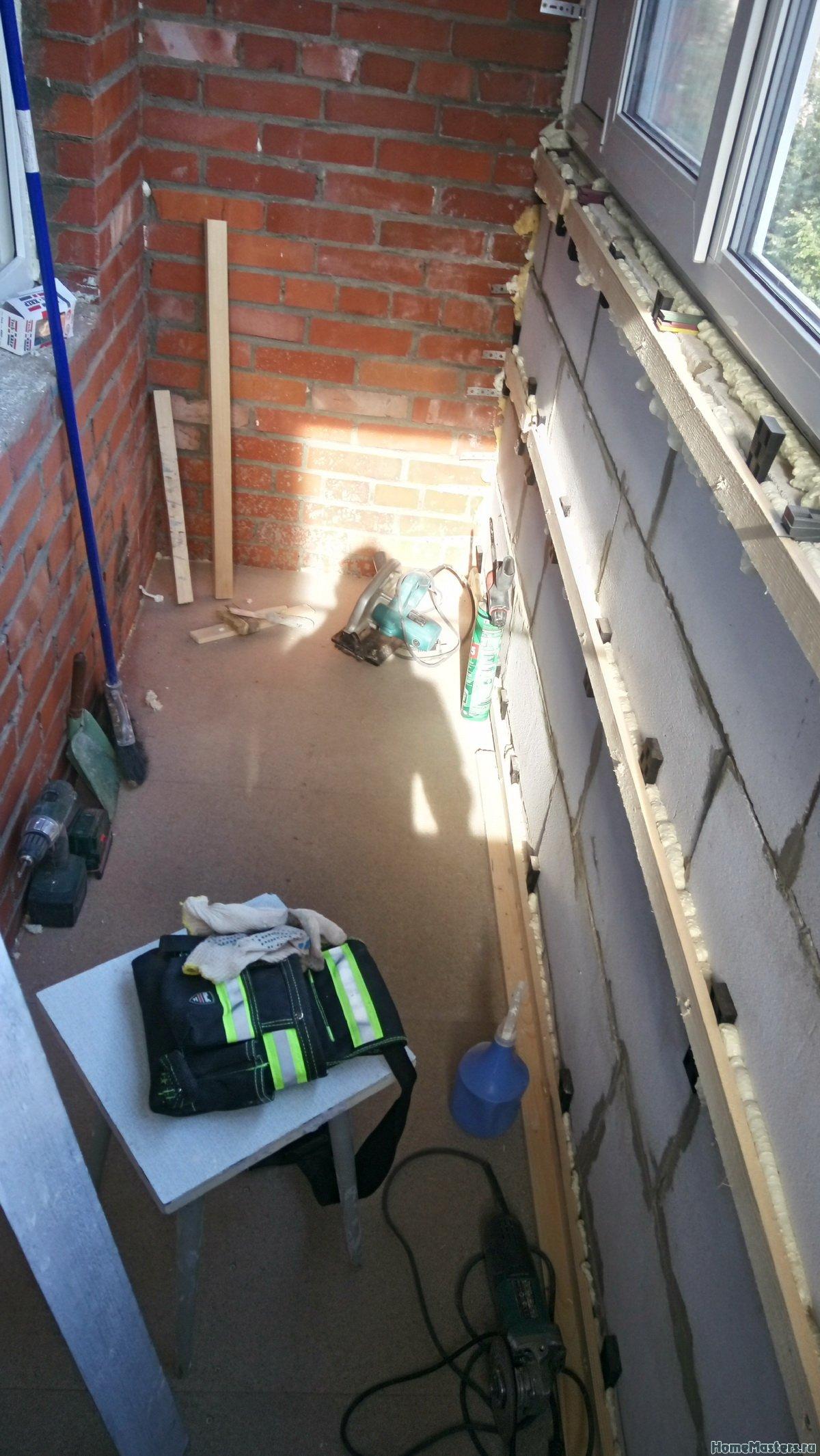 Отделка балкона от СБК-ремонт 23
