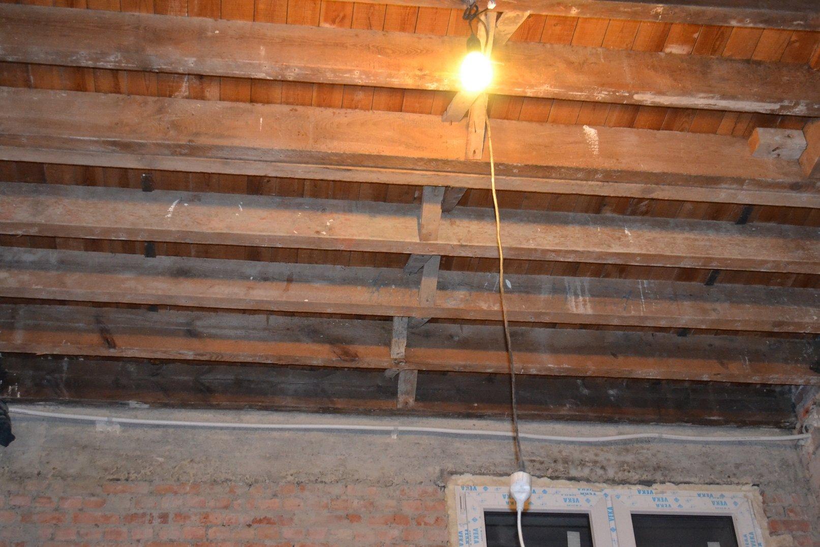 Ремонт спальни 1. Потолок 001
