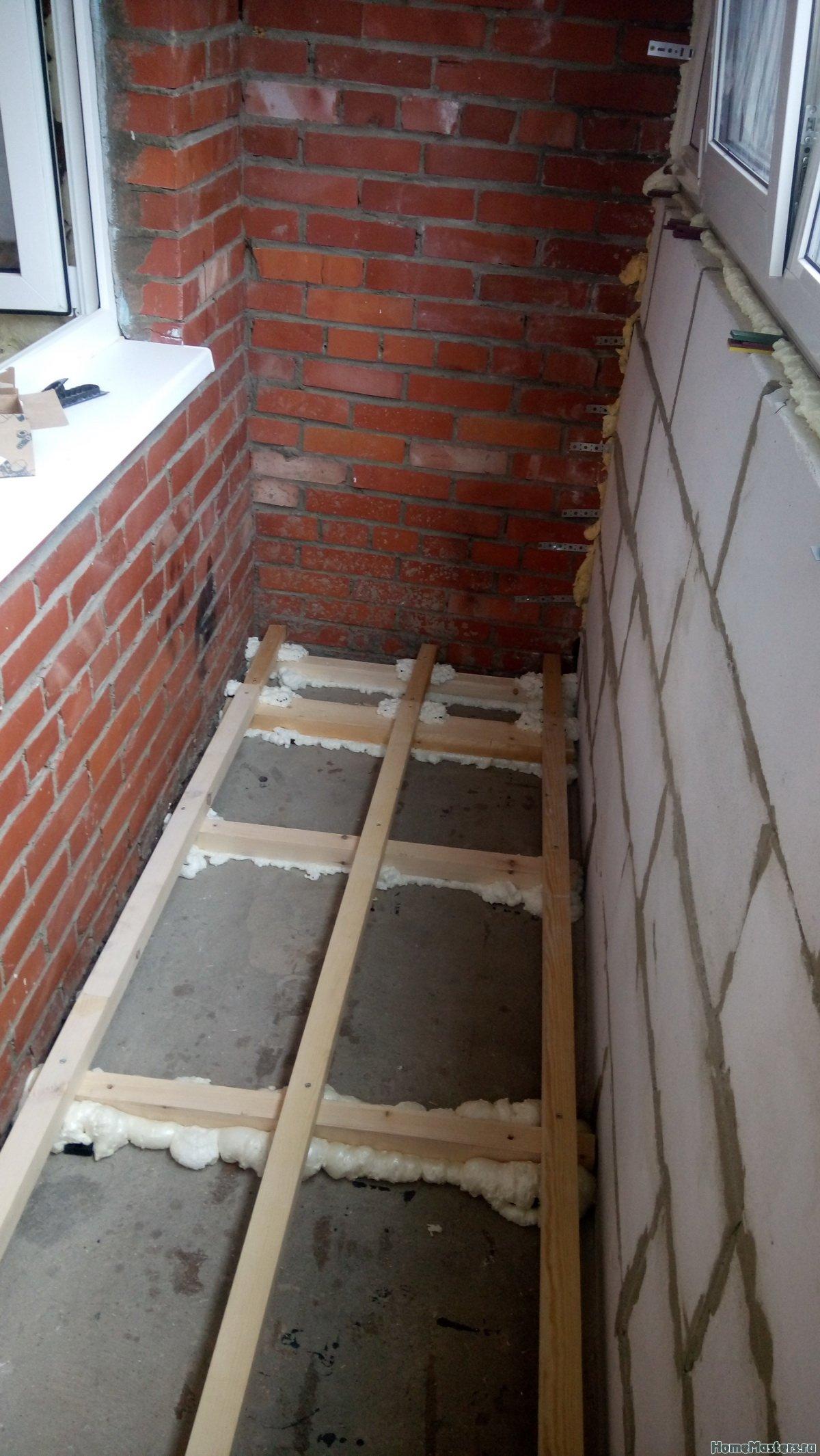 Отделка балкона от СБК-ремонт 18