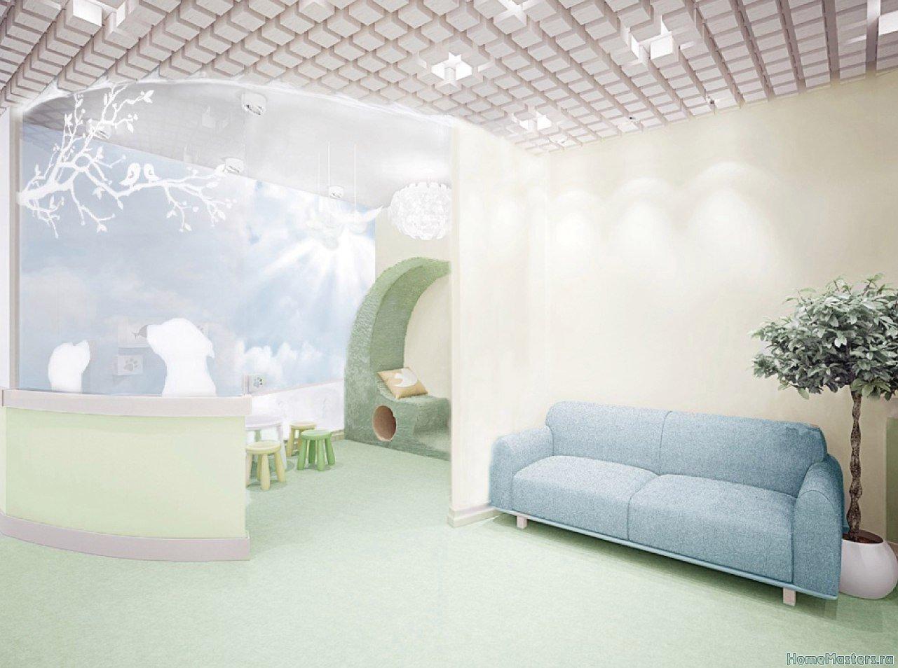 центр канистерапии, рабочая зона