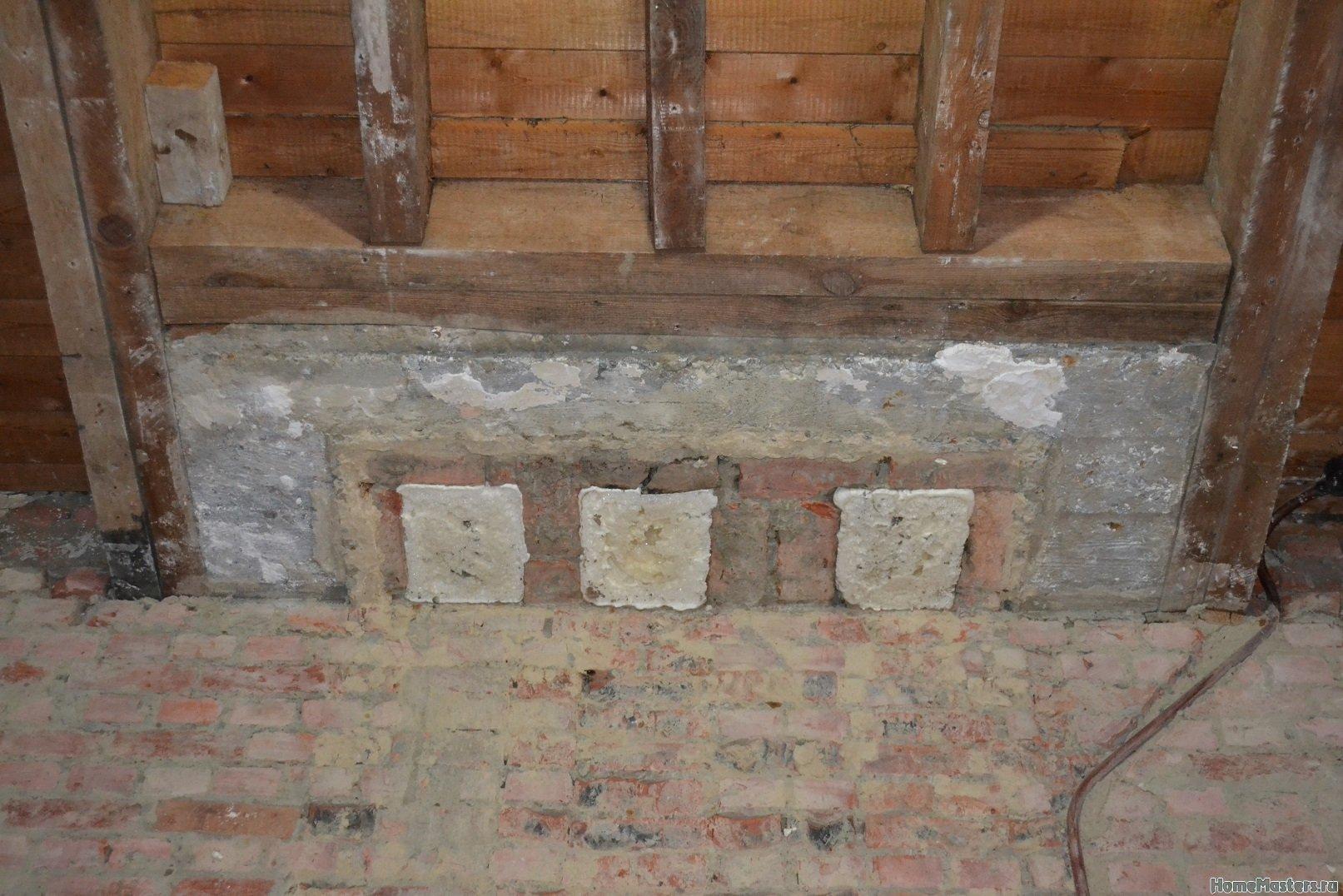 Ремонт спальни  1. Стены, пол, электрика. 017