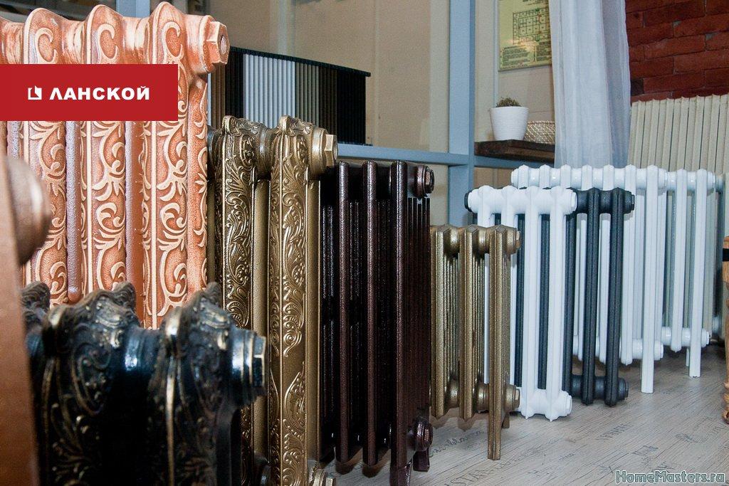эффектные радиаторы под старину в ТК Ланской