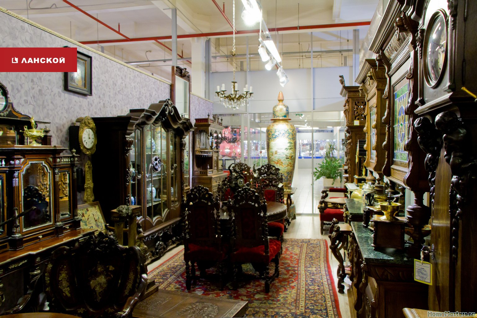 салон АнтикТайм в торговом комплексе Ланской