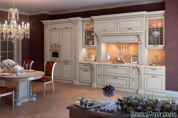 Викторианский стиль кухни