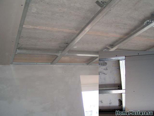 0044 При сильно кривых стенах листы Гкл возможно придеться подрезать подгонять для этого поперечные ПП