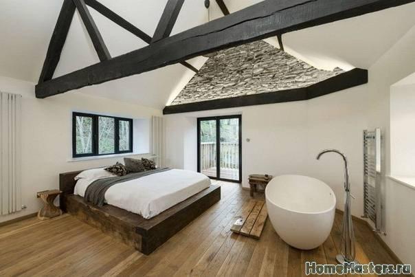 Спальня с ванной