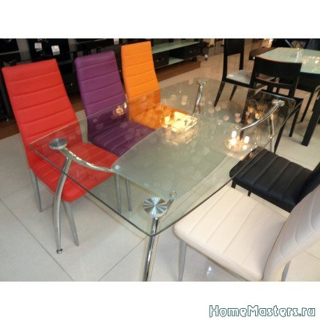 Обеденный стол Элегант-2 из стекла