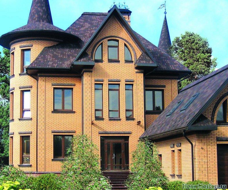 Дома из Старооскольского кирпича