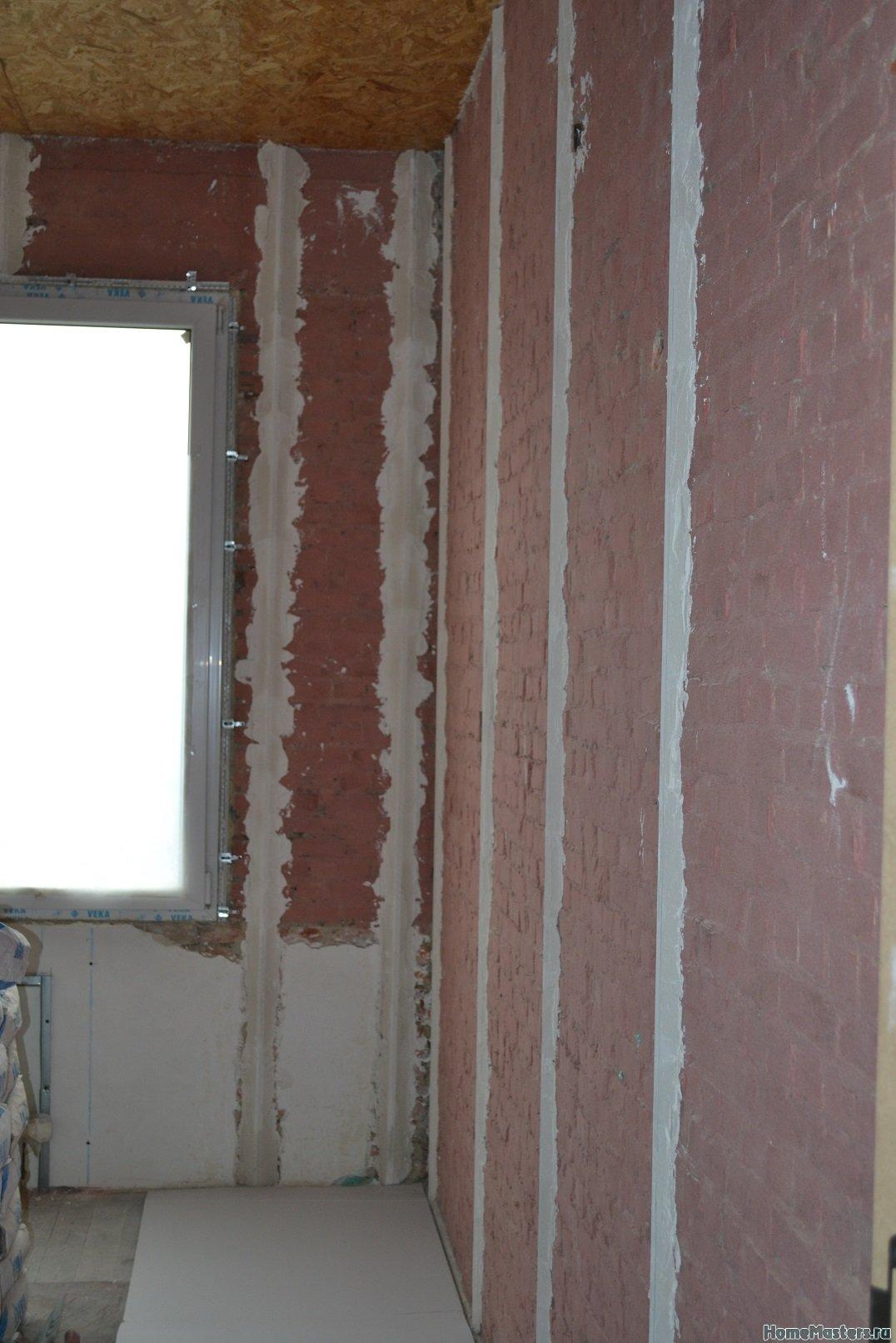 Ремонт спальни 2. Пол и стены. 002