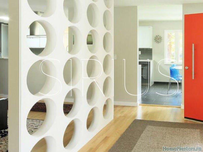 Панели и перегородки 3D  компании SIRIUS