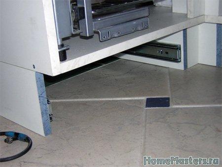011 Всё цокольное пространство будет оборудовано ящиками