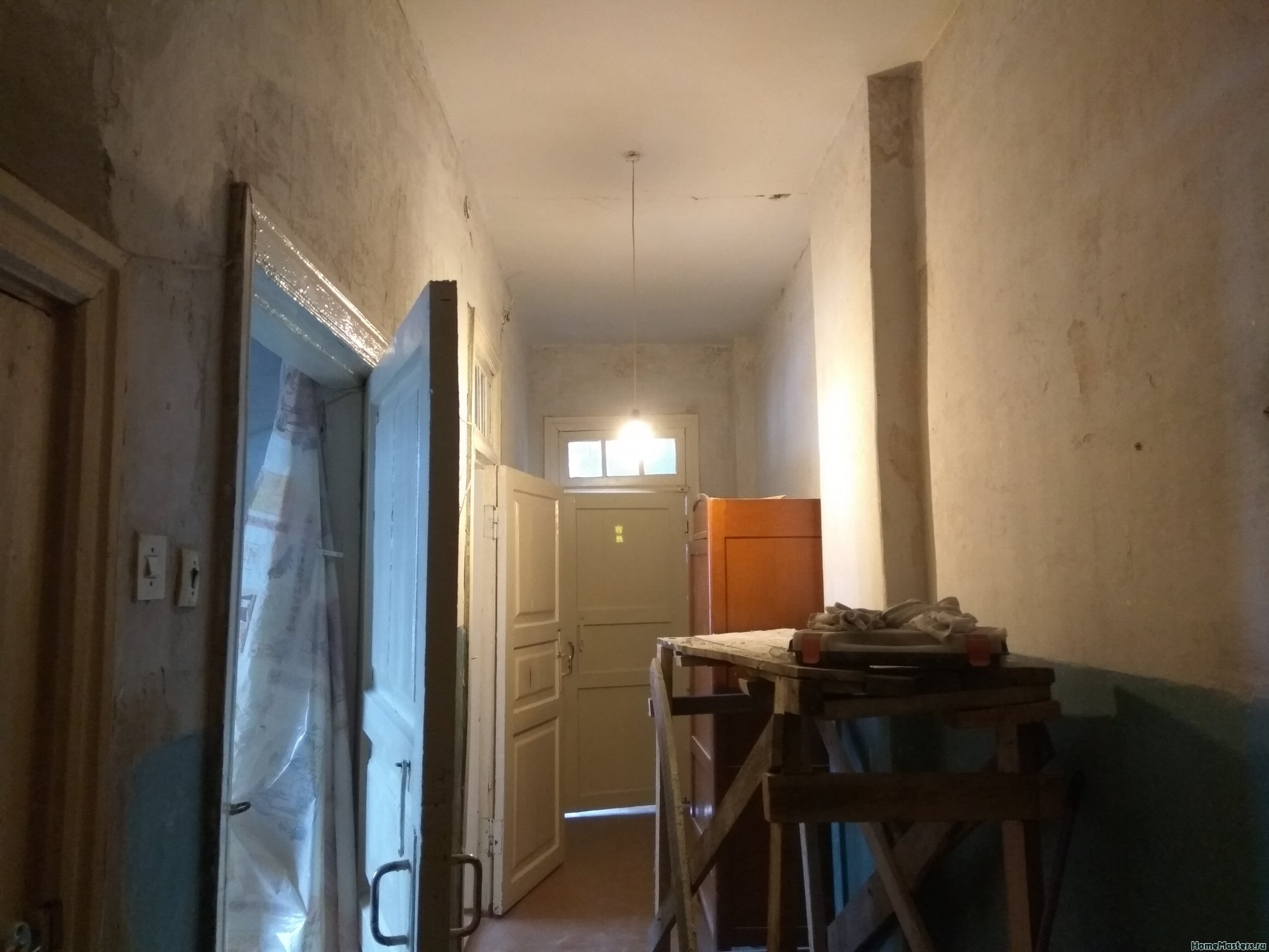 Вид на коридор