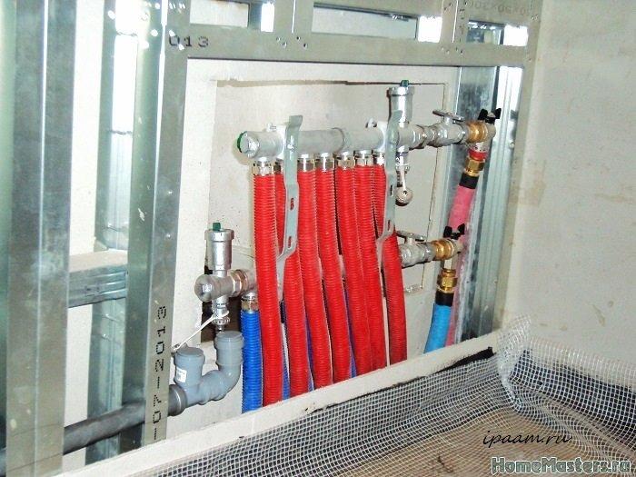 Коллектор отопление