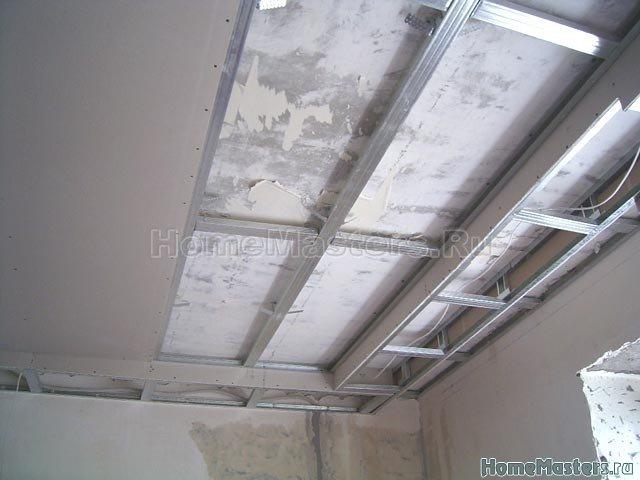 039a каркас гкл потолка