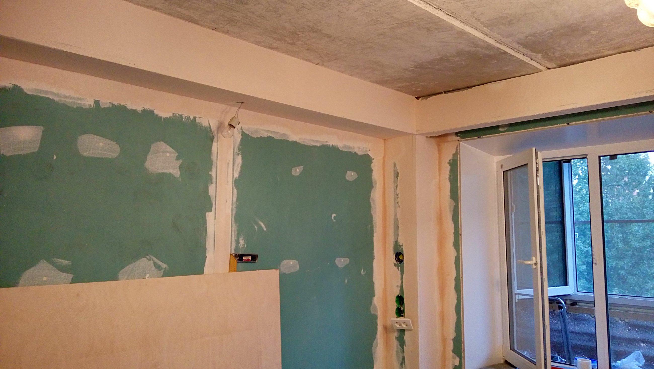 ремонт комнаты от СБК-ремонт 16