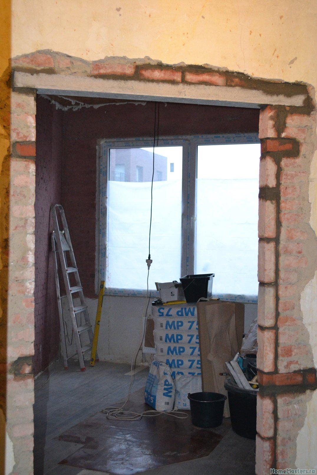 Ремонт спальни 2. Пол и стены. 001m