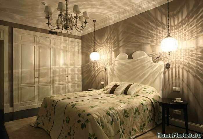 Простая идея для спальной комнаты