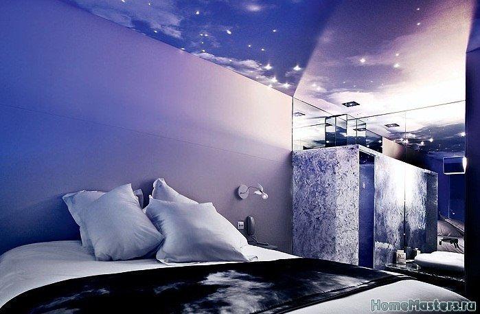 Ночь на потолке