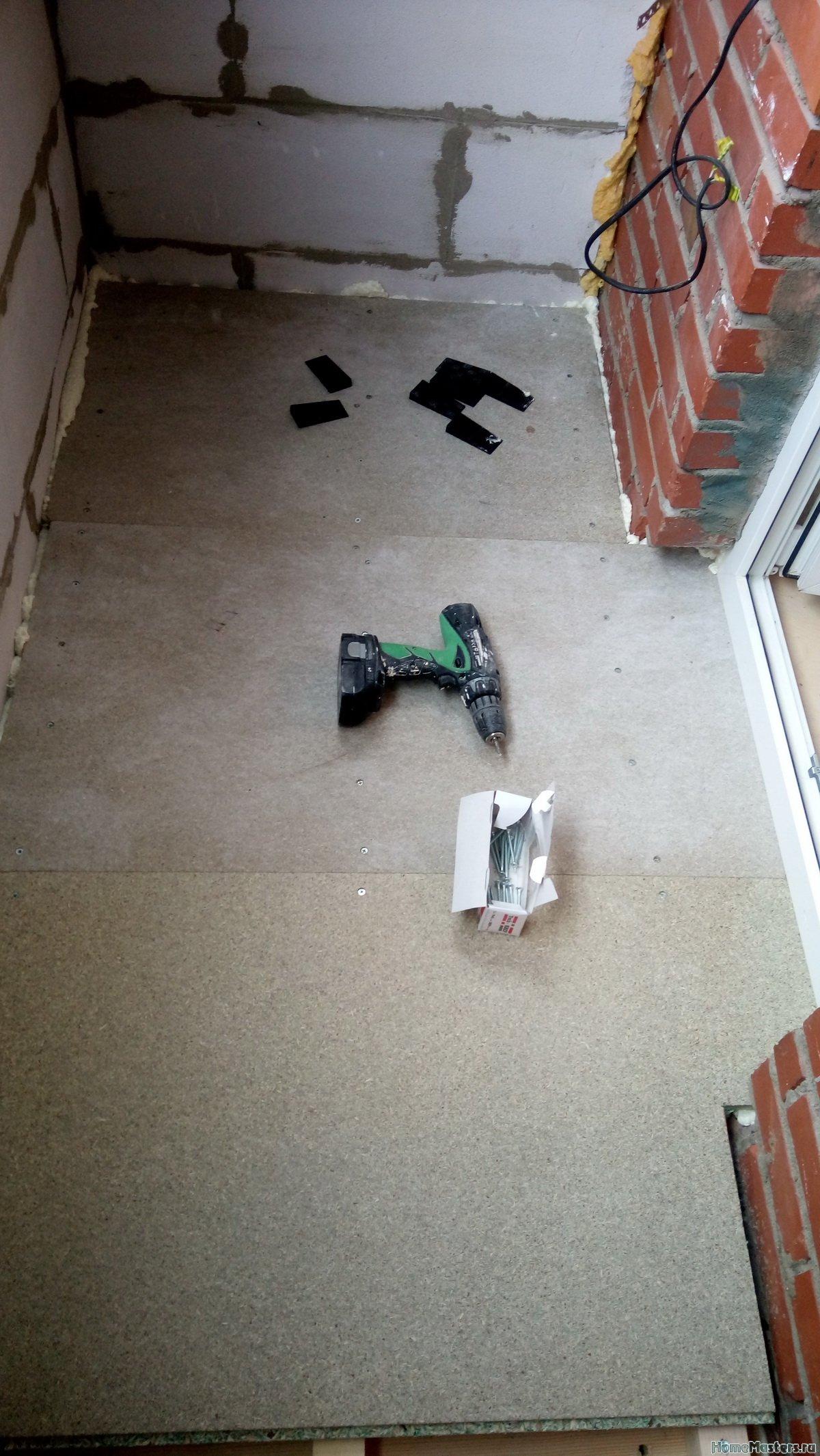 Отделка балкона от СБК-ремонт 21