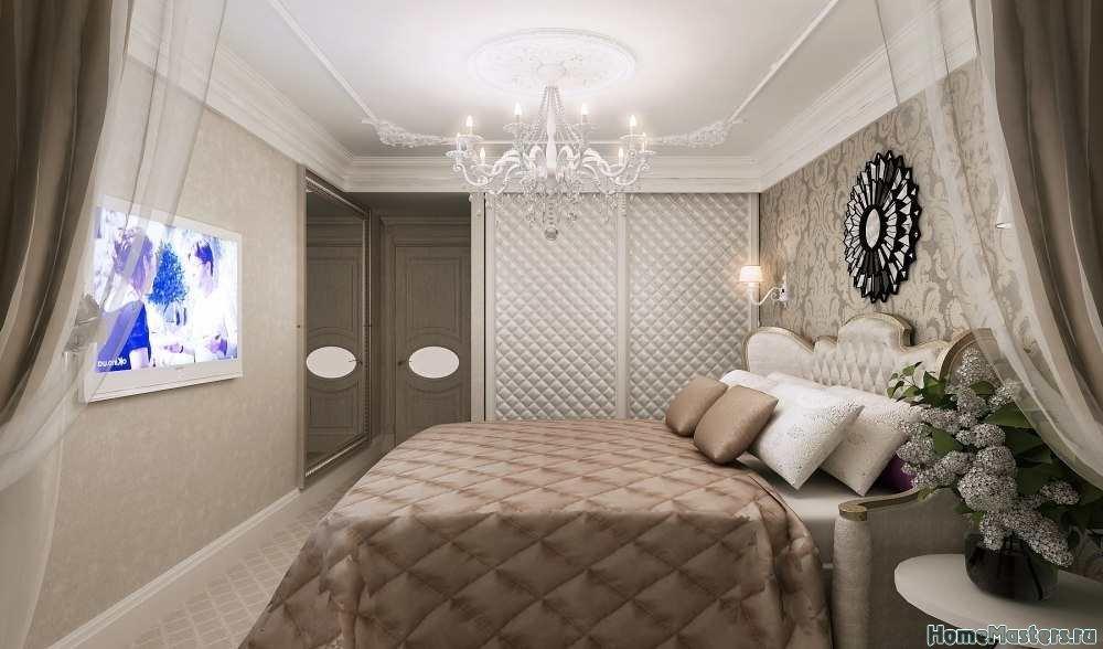 идея для небольшой спальной