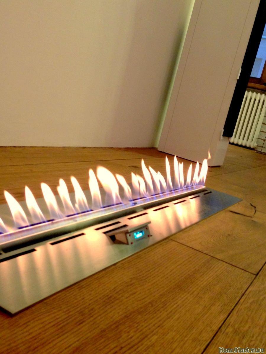 Встроенный биокамин Decoflame Denver e-Ribbon Fire