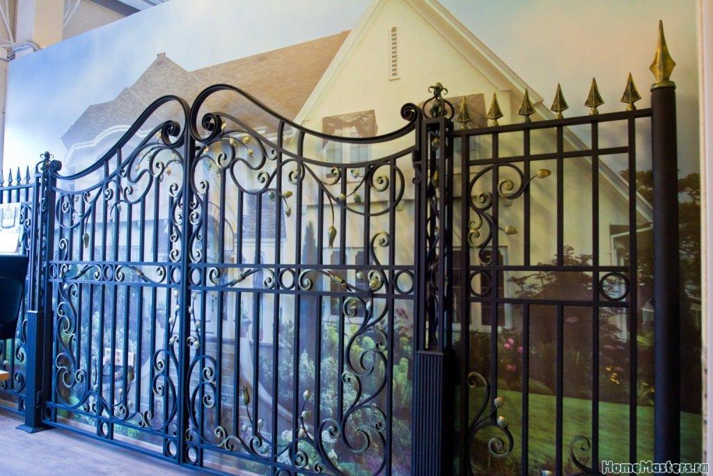 кованые ворота на заказ в тк ланской