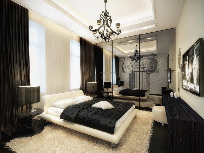 Строгая спальня