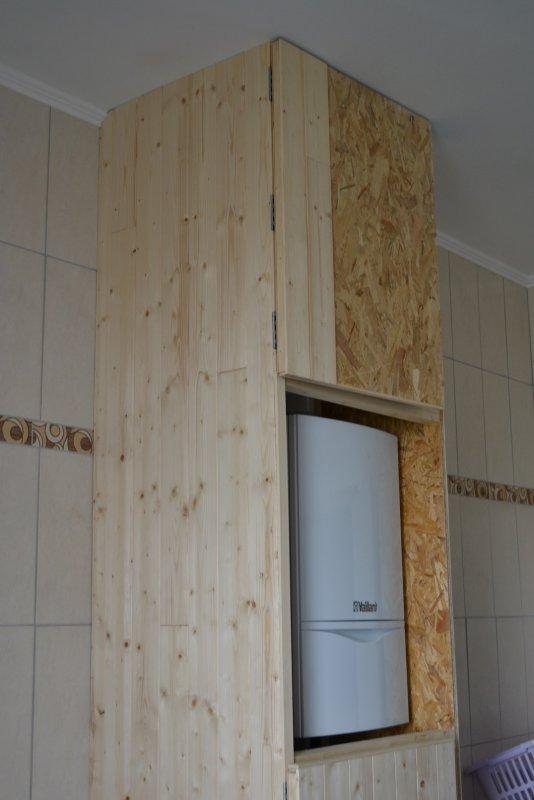Шкаф в ванной комнате. 005