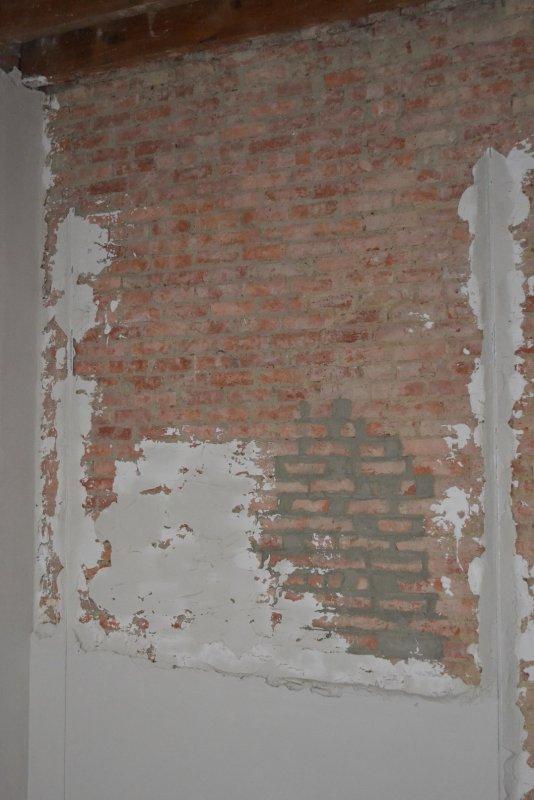 Ремонт спальни  1. Стены, пол, электрика. 026