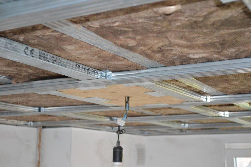 Ремонт на кухне. Потолок. 015