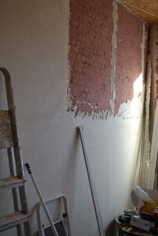Ремонт спальни 2. Пол и стены. 013