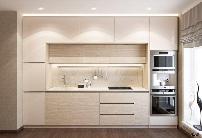 Кухня в стиле «Контемпорари»